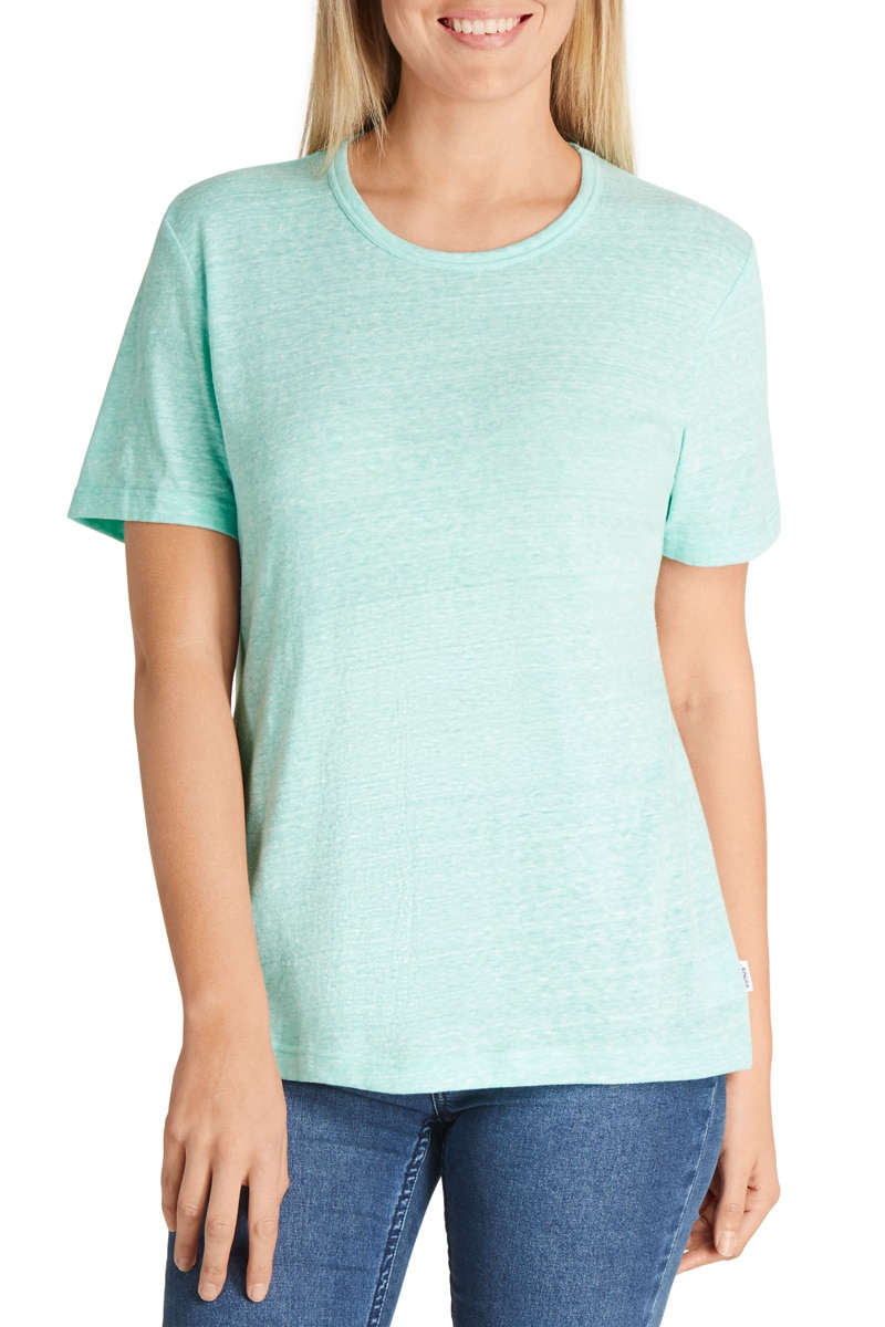Bonds Triblend Crew Tee - Rockpool Blue / XL