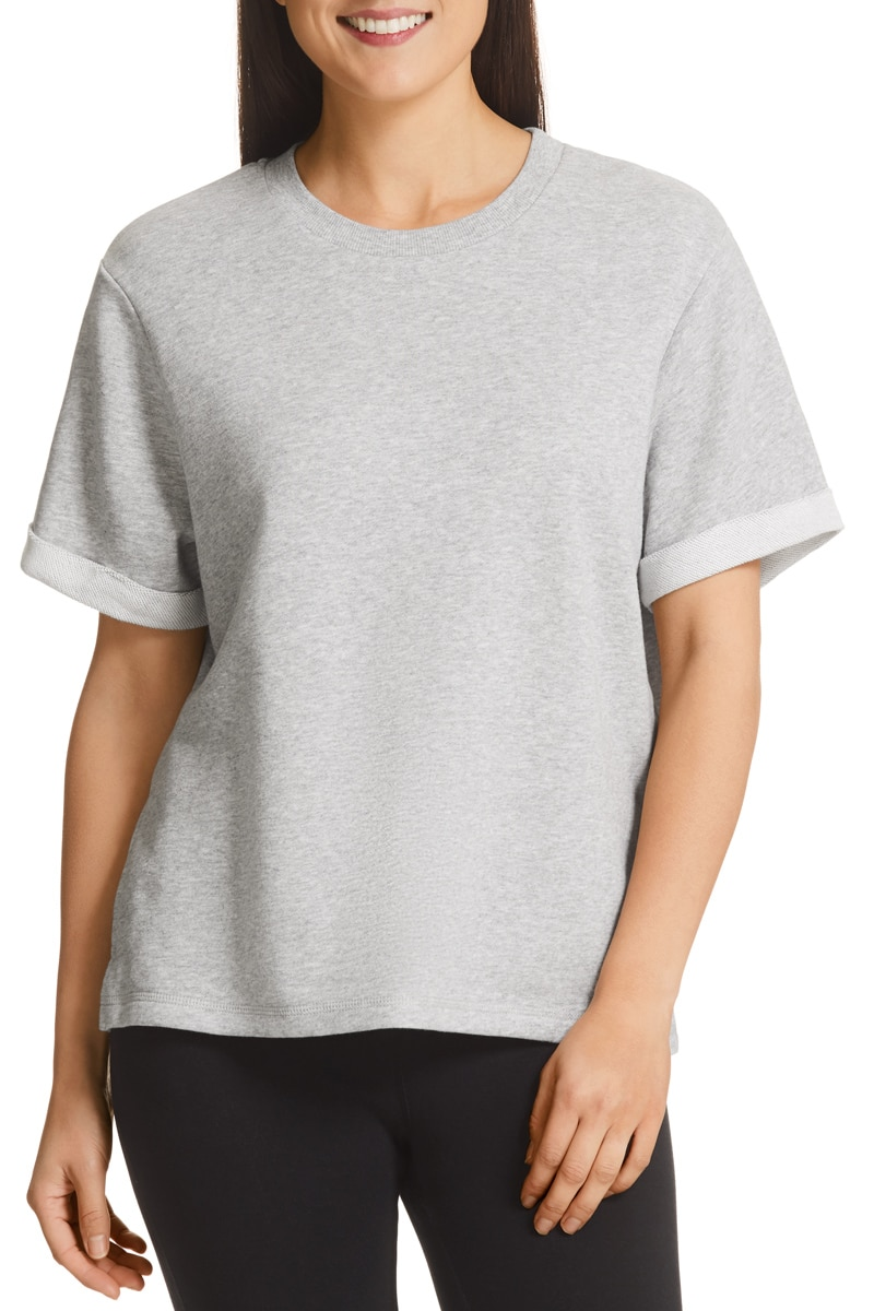 Bonds Terry Tee - New Grey Marle / XS