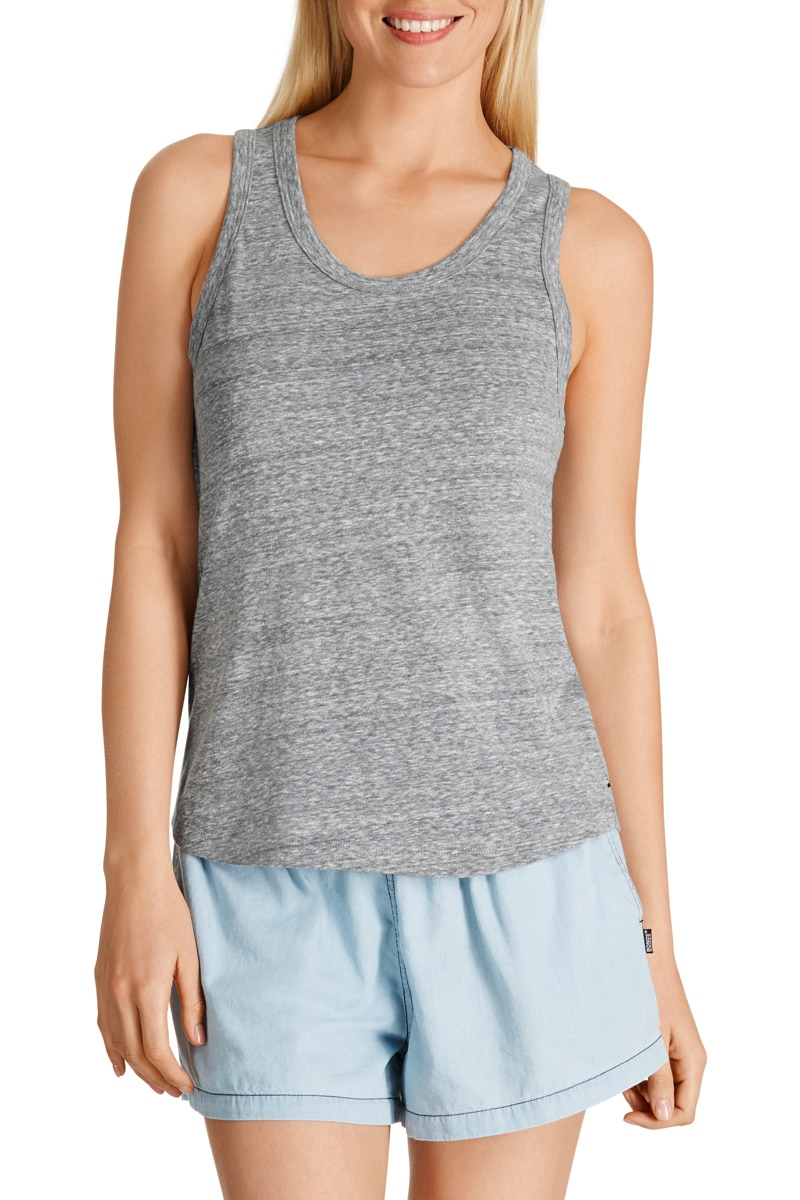 Bonds Triblend Tank - Steel Waters / L