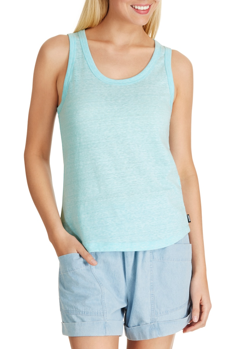 Bonds Triblend Tank - Spritz Blue / M