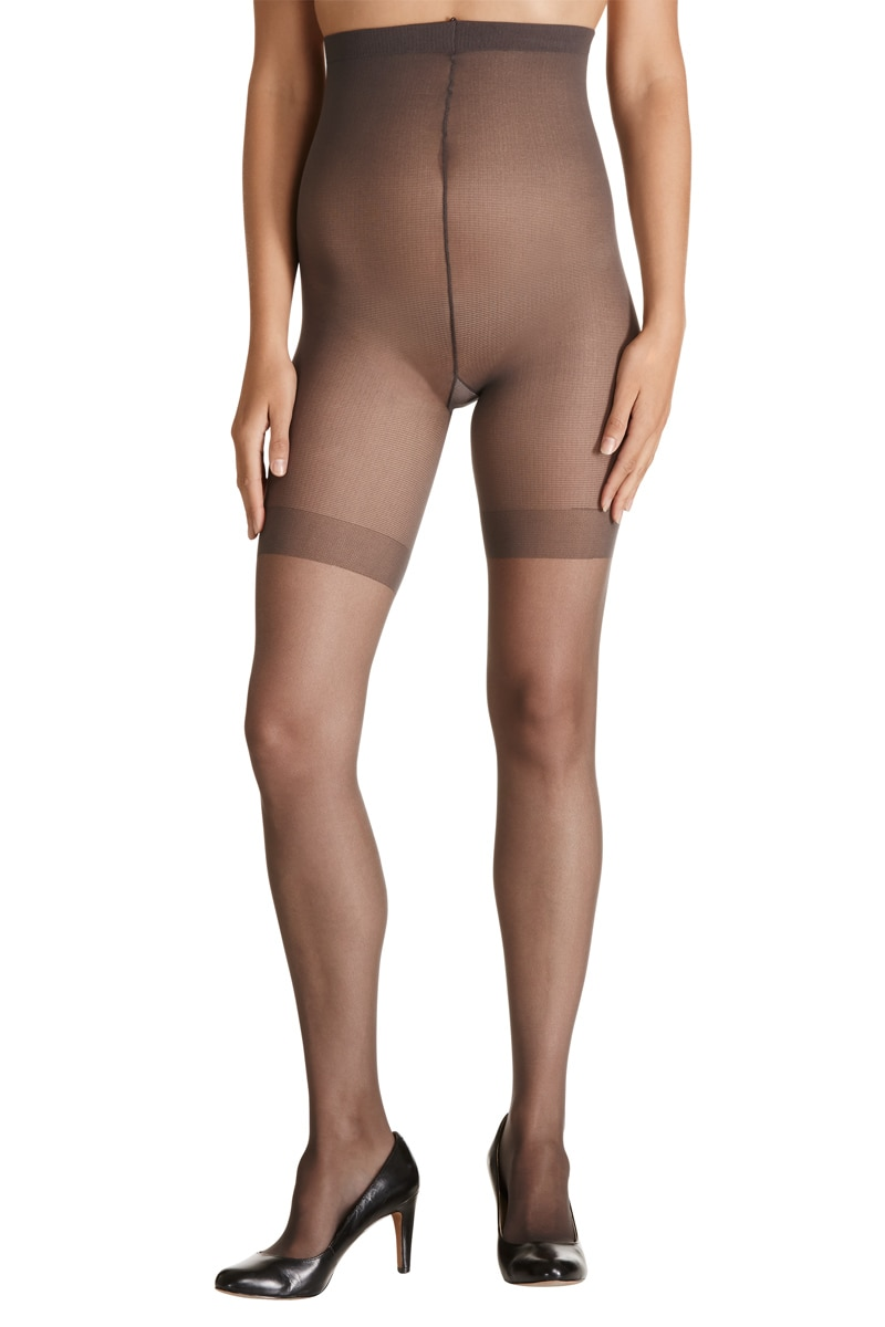 Kayser Plus Resilience Pantyhose 5Pk - Barely Black / 22-24