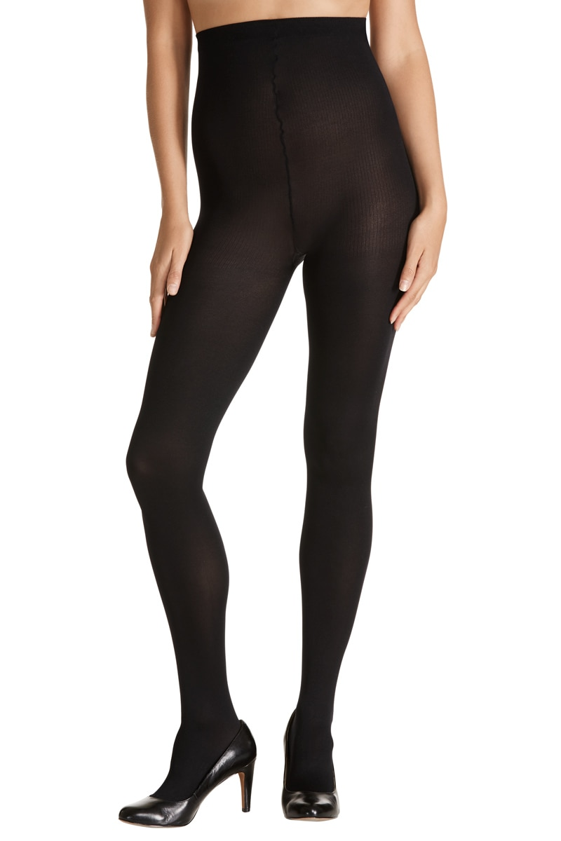 Kayser Plus Opaque 70 denier Tight 5Pk - Black / 18-20