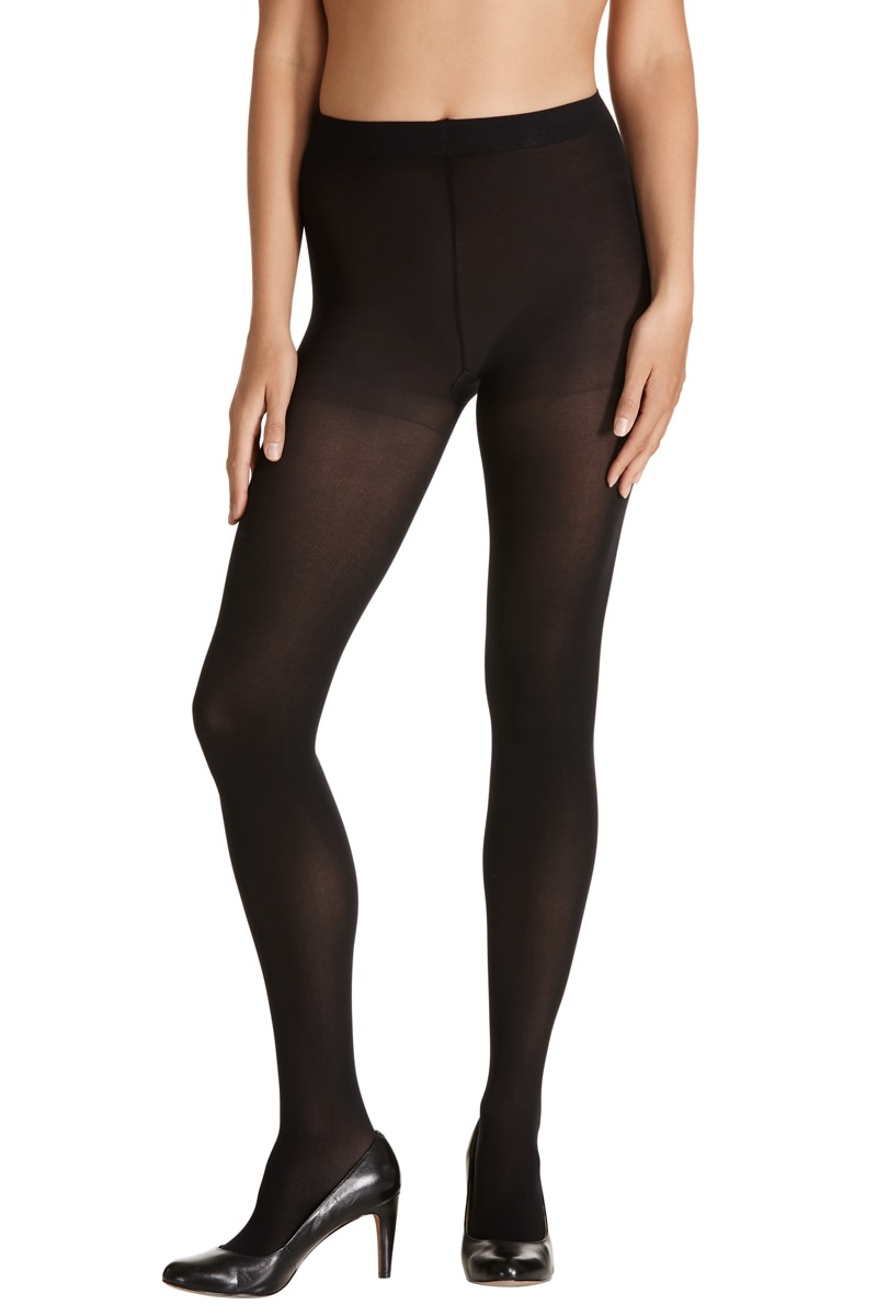 Voodoo Lavish Opaque Tight 700 Denier 5Pk - Black / Extra Tall