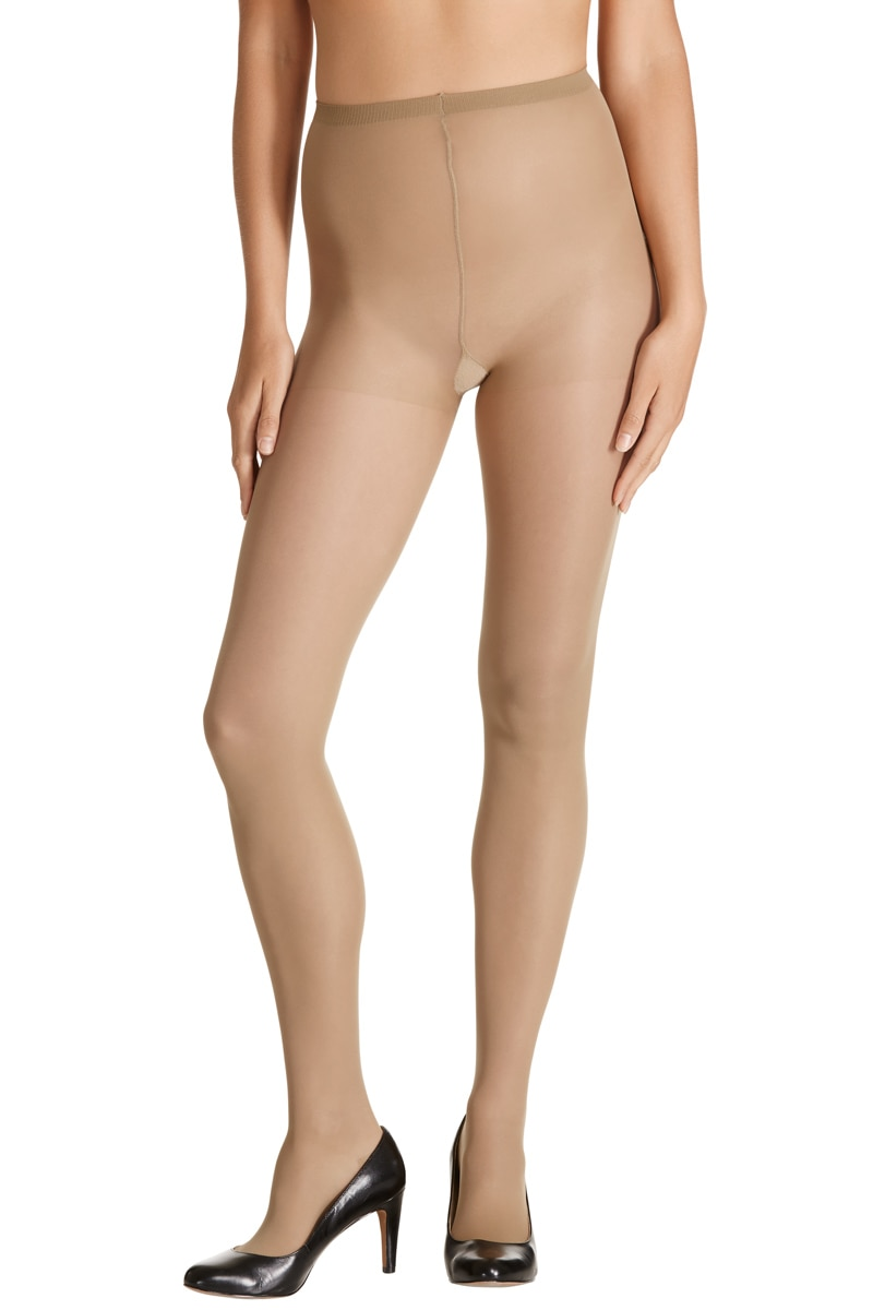 Sheer Relief Sheer Pantyhose 5Pk - Mini Beige / Average
