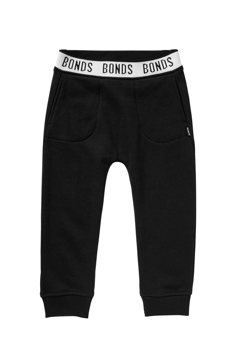 Bonds Kids Logo Signature Trackie - Black / 1