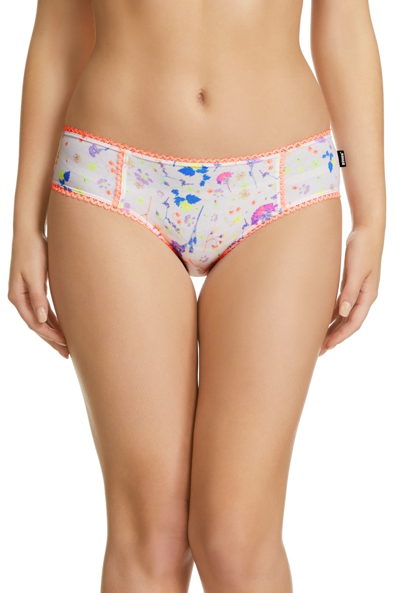 Bonds Hot Shortie - Pressed Pansy / 8