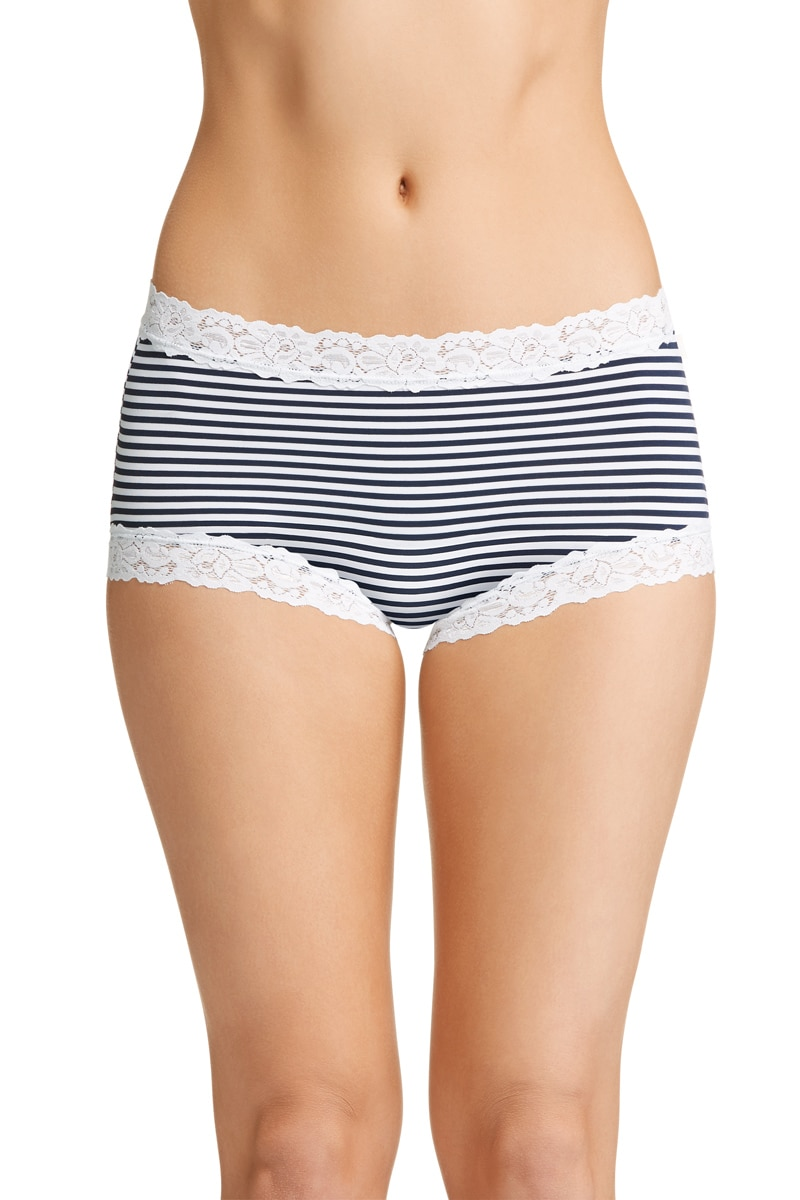 Jockey Parisienne Full Brief - Classic Even Stripe / 12