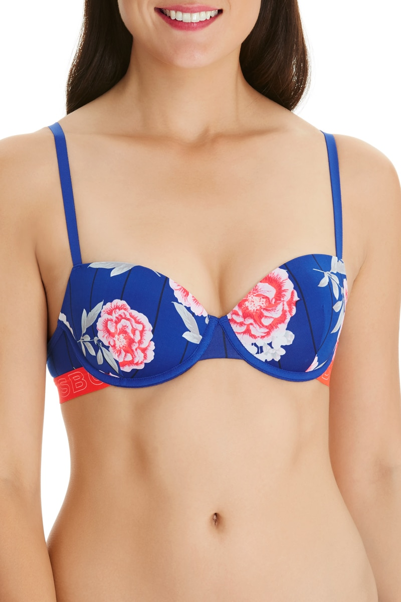 Bonds Hipster Tee Bra - Carnation Nation / 14 A