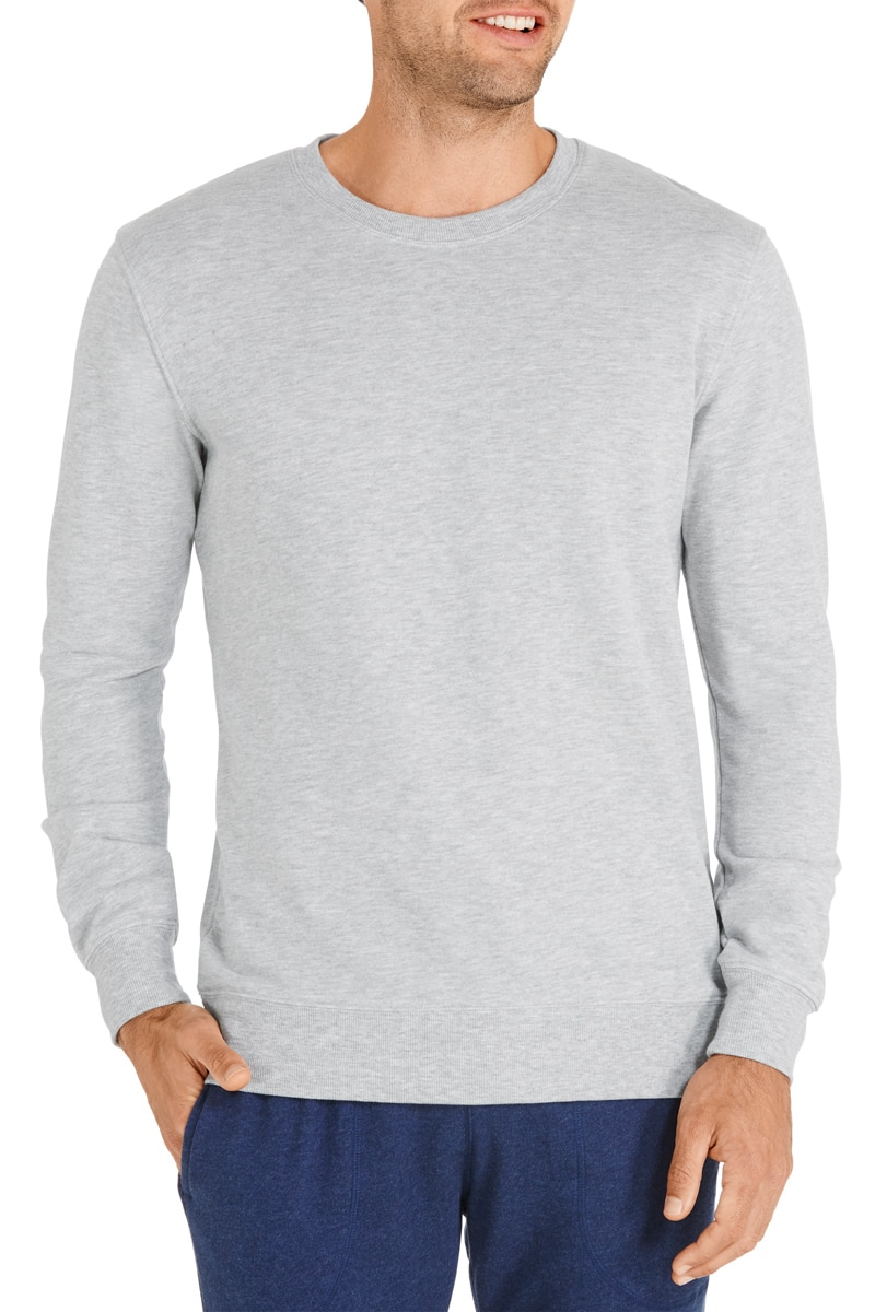 Bonds Basic Pullover - New Grey Marle / L