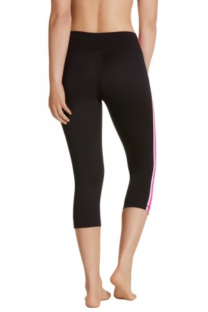 Bonds Bodycool Spliced 3/4 Legging Neo Fuchsia CWYJI JR7