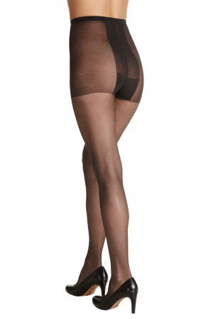 Plus Sheer Nylon Pantyhose 5Pk