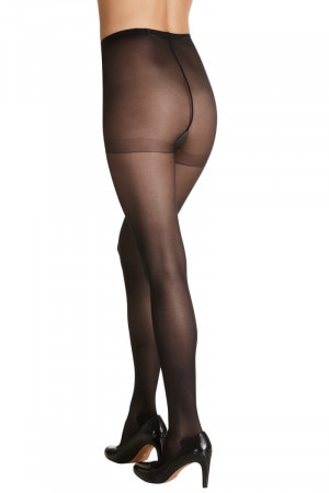 Sheer Relief Sheer Pantyhose 5Pk Black H32800 BLK