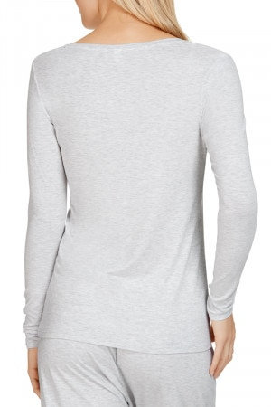 Jockey The Weekender Jersey Long SleeveTop Overcast Marle WWG6 MAL