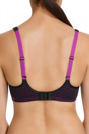 Berlei Electrify Underwire Bra Electric Fuchsia & Black YYN7 MFC