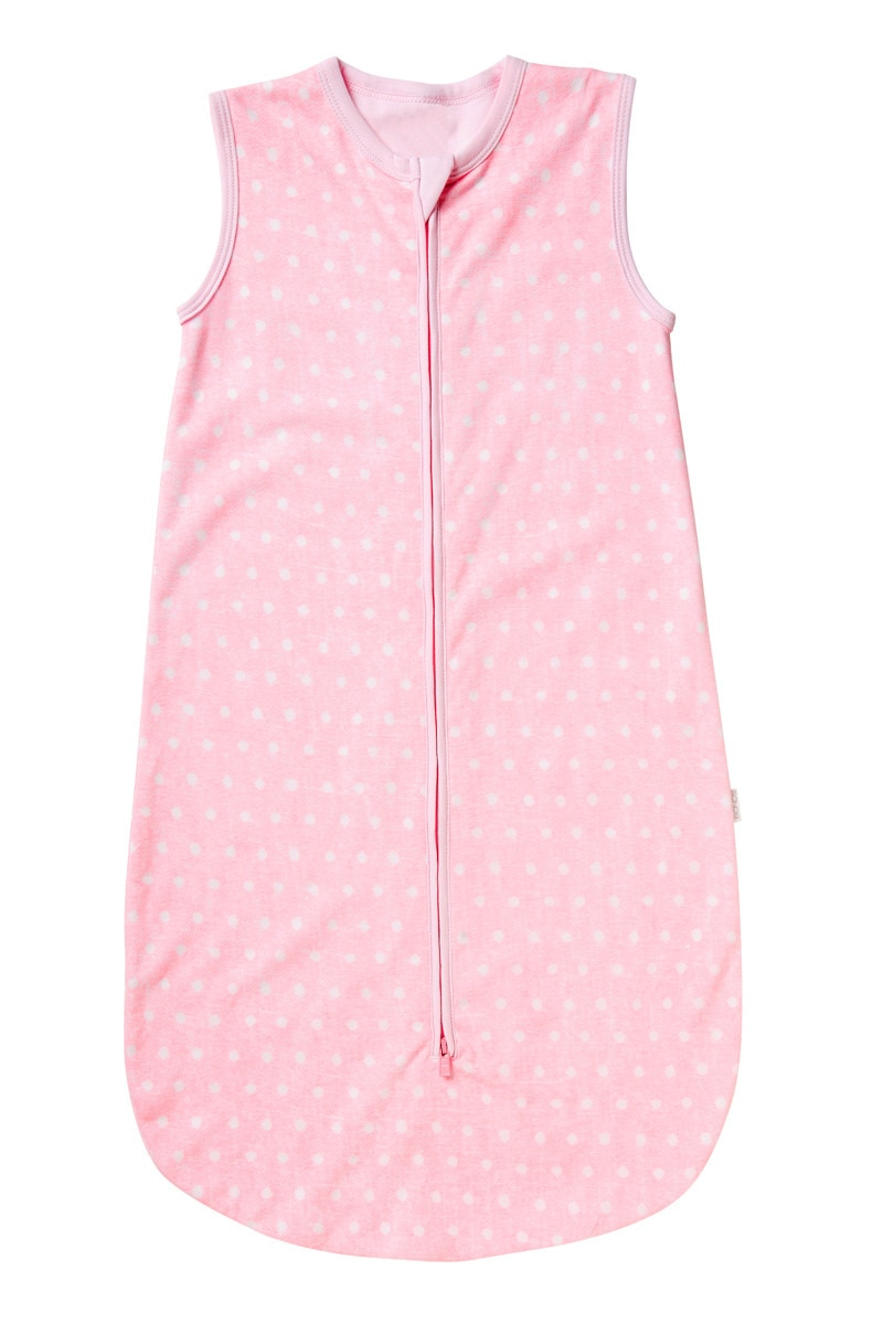 Bonds Outlet Sleeping Bag Denim Spot Pink