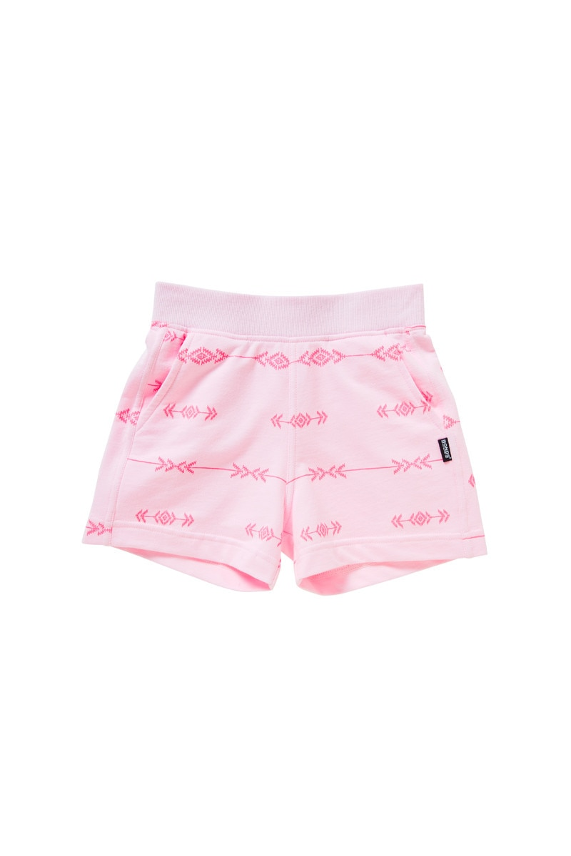 Bonds Outlet Girls Terry Short Stripe Navajo Pink