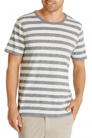 Bonds Textured Crew Tee White Wash & Black Onyx AYCVI 56R
