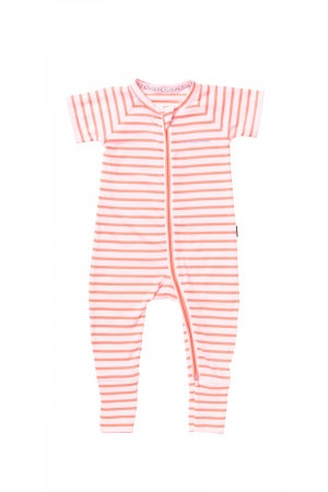 Bonds Zip Wondersuit Paradise Punch Stripe BY64A 9BB