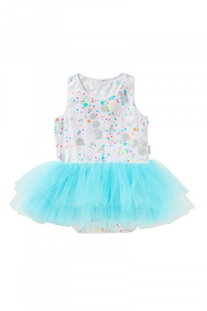 Bonds Baby Tutu Dress Glitter Bomb White BYEFA 5FF
