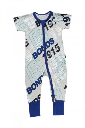 Bonds Zip Wondersuit Bonds Retro Logo BYEKA 5EG
