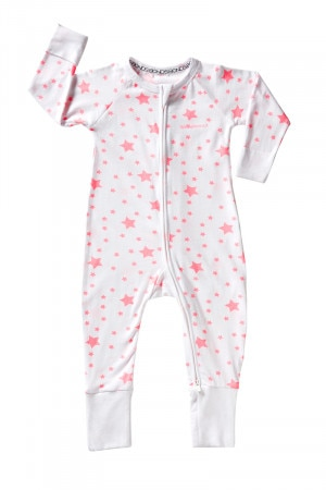 Bonds Zip Wondersuit Starlight Pink BZBVA 40D