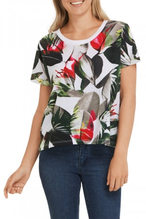 Bonds Outlet New Era Boxy Tee Wild Lily