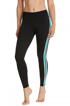 Bonds Bodycool Spliced Legging Emerald Wave CWYHI JPP