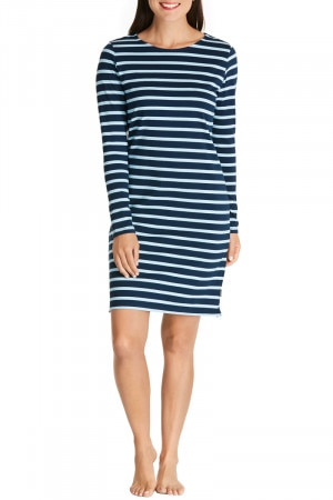 Bonds Outlet Rugby 3/4 Dress Ocean Spray & Deep Arctic