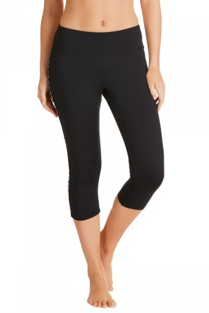 Bonds BodyCool 3/4 Legging Black CXA9I BAC
