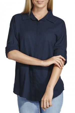 Bonds Voile Shirt Magic Navy CXN9I RDW