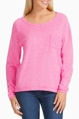 Bonds Texture Pocket Pullover Sunset Pink CZKFI EBP