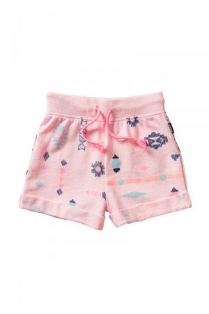 Bonds Kids Terry Cuff Short Gypset Shapes Pink KXUPK ZBF