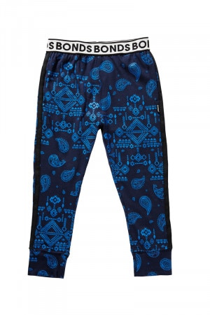 Bonds Outlet Kids New Era Trackie Geo Paisley Blue
