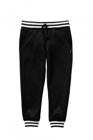 Bonds Kids Retro Ribs Trackie Black KXVTK BAC