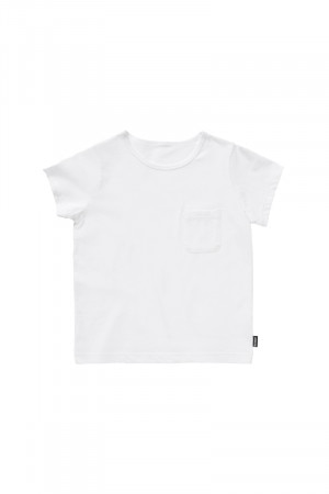 Bonds Kids Jersey Pocket Tee White KY4VA WHI