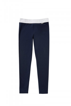 Bonds Outlet Girls Plain Legging Deep Arctic