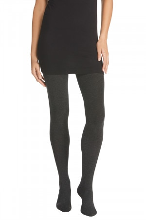 Bonds Comfy Tops Texture Tights Charcoal Marle L9622O CCM