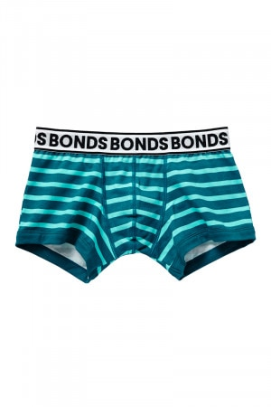 Bonds Boys Fit Trunk Capri Breeze Stripe UY9X1A 09R