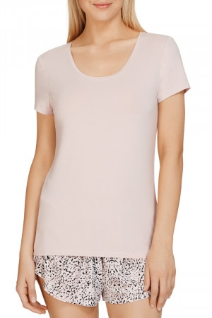 Jockey The Weekender Jersey Short SleeveTop Muted Rose WWG4 KEU