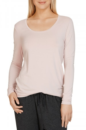 Jockey The Weekender Jersey Long SleeveTop Muted Rose WWG6 KEU