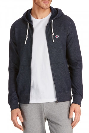 Champion Hood Full Zip Sweat Navy A2315H NAV