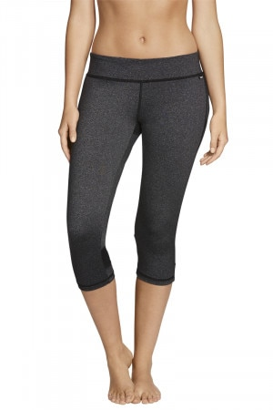 Bonds Active Spliced 3/4 Legging Black Marle CXRXI 738