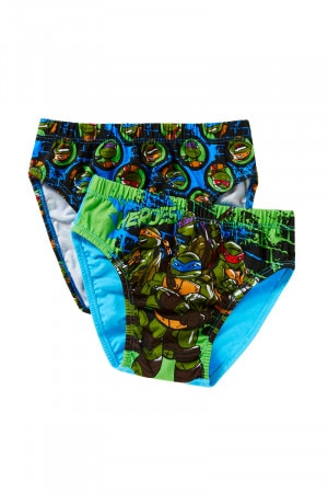 Rio Teenage Mutant Ninja Turtles Boys 8pk Brief Assorted 1 UP1223 AS1