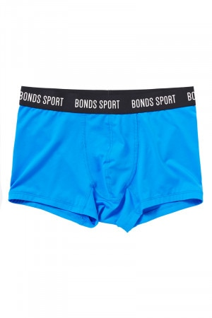 Bonds Boys Sport Trunk Blue Sportif UY3C1A HHA