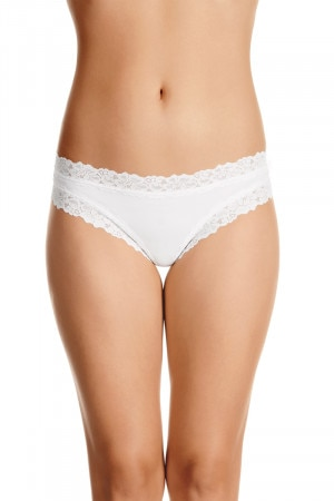 Jockey Parisienne Cheeky Brief White WWLM WHI