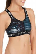 Bonds Outlet Active Zip Crop Feather Night