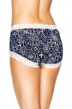 Bonds Outlet Parisienne Cotton Full Brief Print 89
