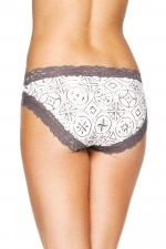 Bonds Outlet Parisienne Cotton Bikini Print 90