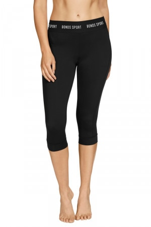 Bonds Outlet Active Cropped Micro Legging Black