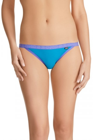 Bonds Outlet Hipster String Bikini Blue Capri